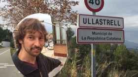 El alcalde de Ullastrell, Joan Ballbé, ha proclamado la República Catalana
