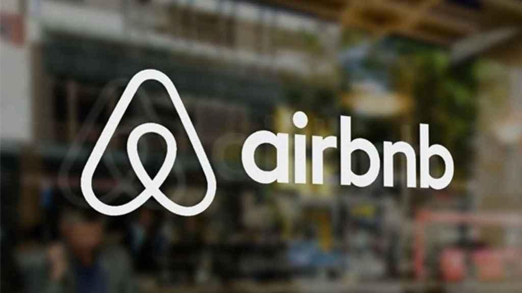 Logo de Airbnb en una imagen de archivo.