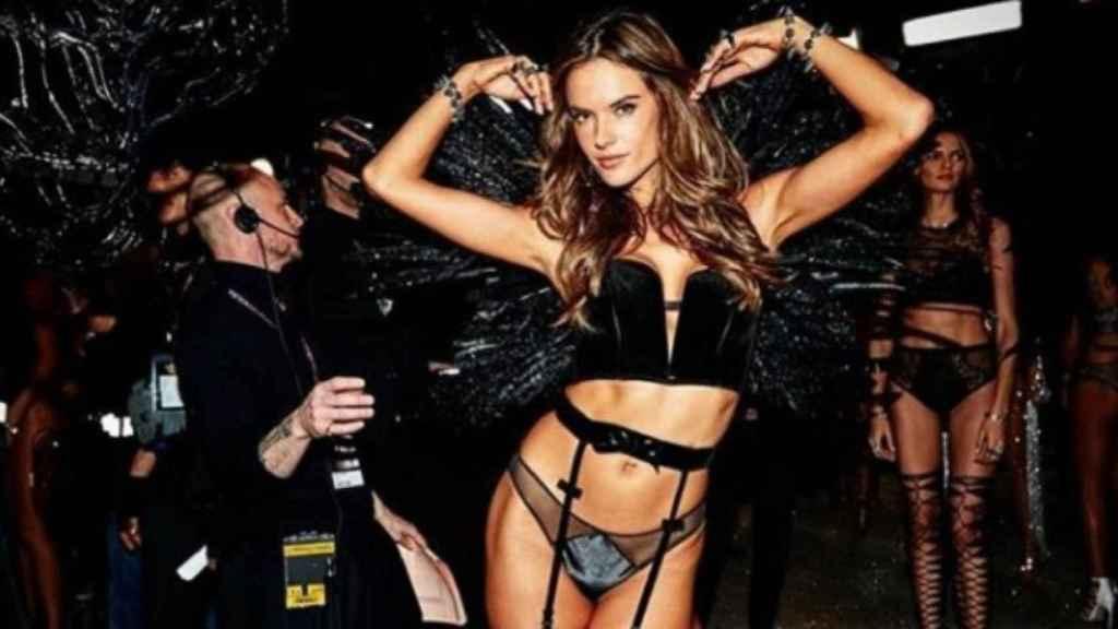 Alessandra Ambrosio, modelo brasileña. Foto: Instagram (@alessandraambrosio)