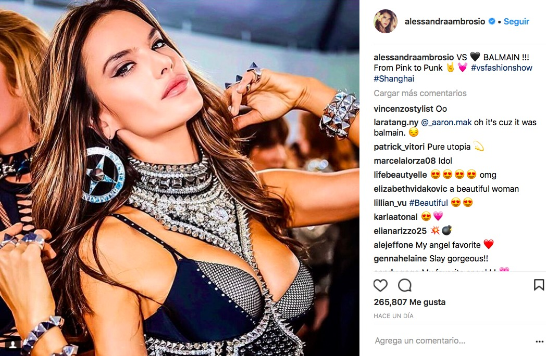 Alessandra Ambrosio declara su amor por Neymar: Me casaría con él