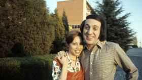 Karina junto a Tony Luz en 1960.