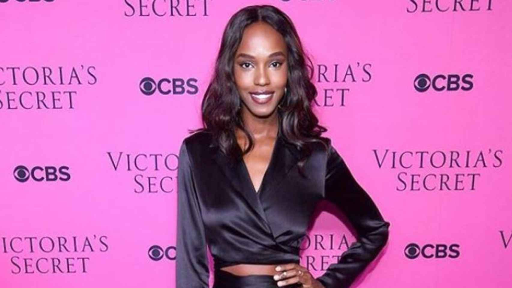 Los ángeles de Victoria's Secret en la fiesta en Nueva York