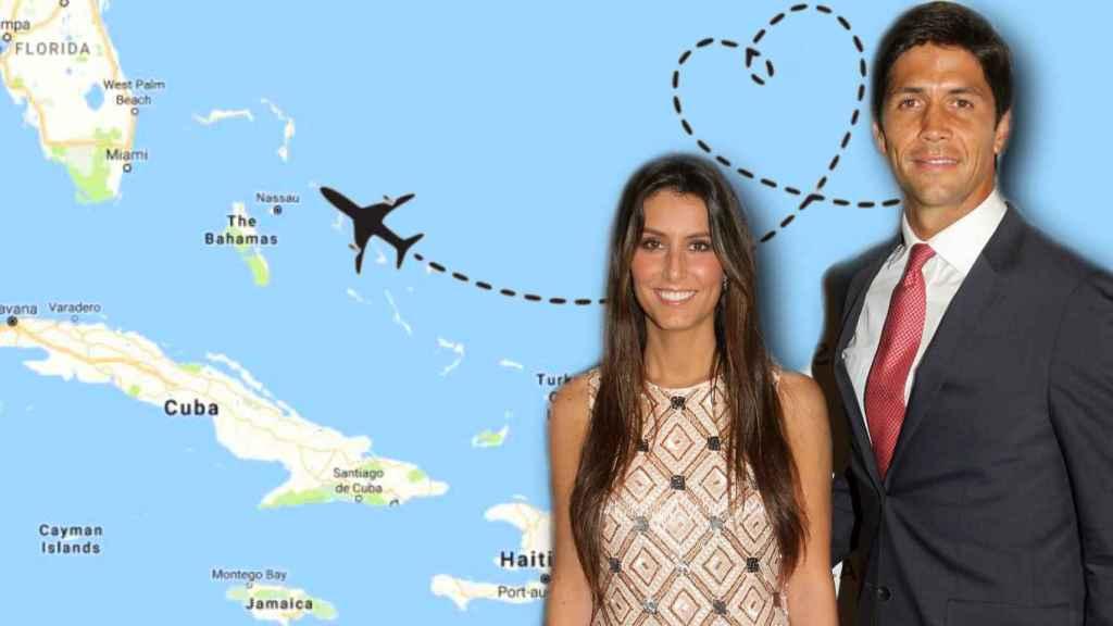 Cuenta atrás para que la pareja y sus invitados más vip vuelen al Caribe.