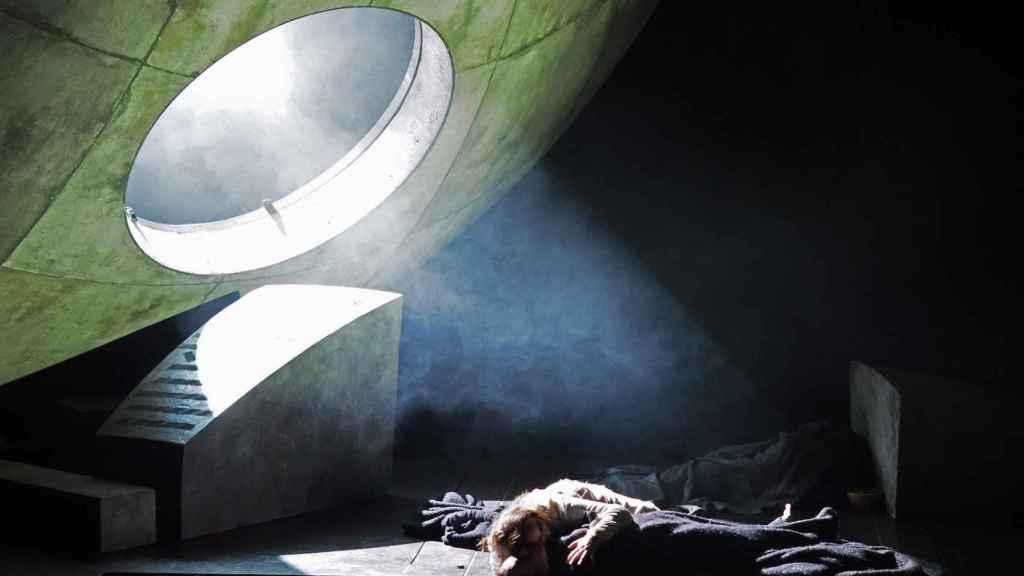 Uno de los momentos finales de Tristán e Isolda, de Wagner, en el Liceu de Barcelona.