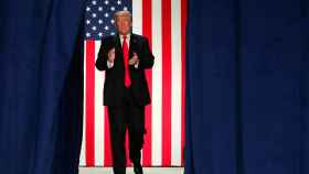 Trump durante un acto en Misuri sobre la reforma fiscal