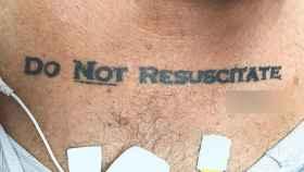 Urgencias lo flipa con el tatuaje de este hombre