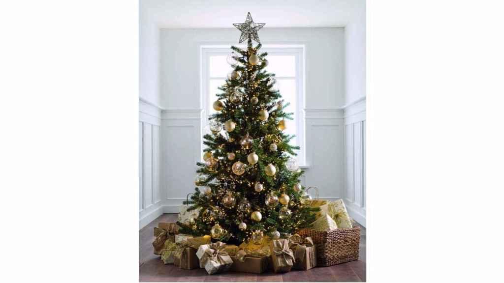 Los árboles bien vestidos son, por sí solos, el elemento protagonista del hogar.