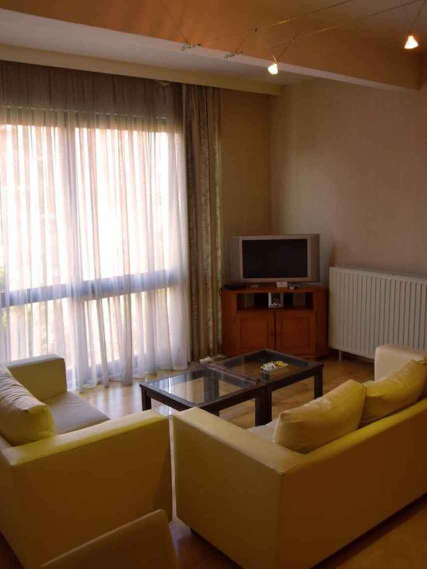 Imagen de uno de los apartamento que han podido alquilar Puigdemont y sus exconsellers