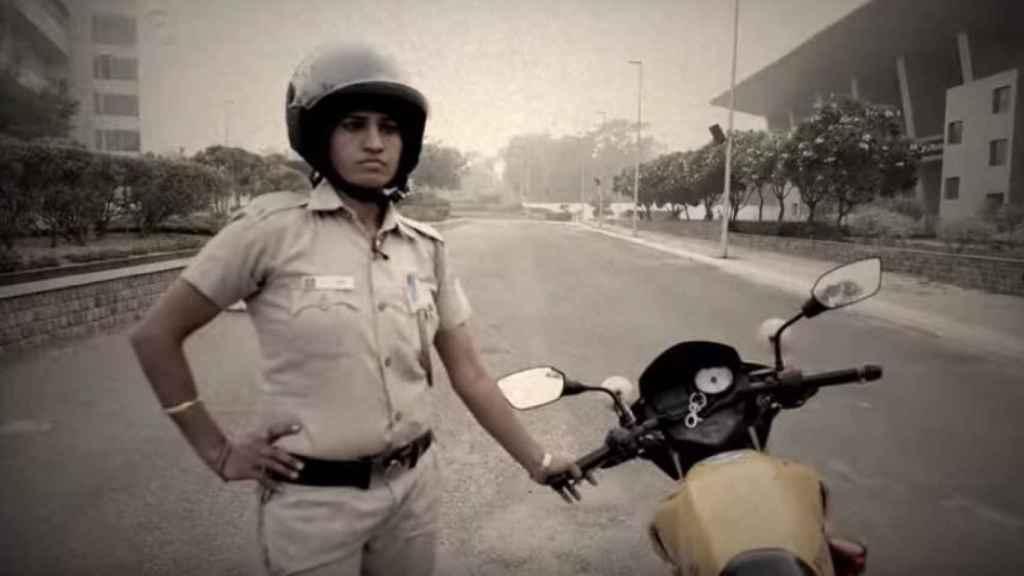 Integrante de la patrulla policial Raftaar