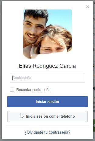 Facebook com iniciar sesión
