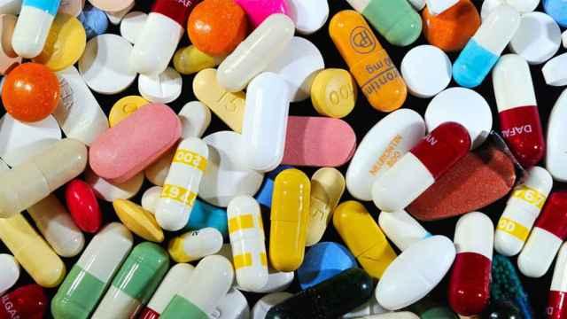 Un bodegón de fármacos.