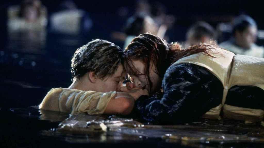 Mítica escena de Titanic.