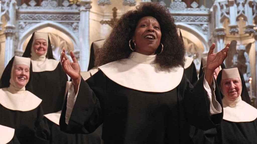 Sister Act, otra de las películas recopiladas en el libro.