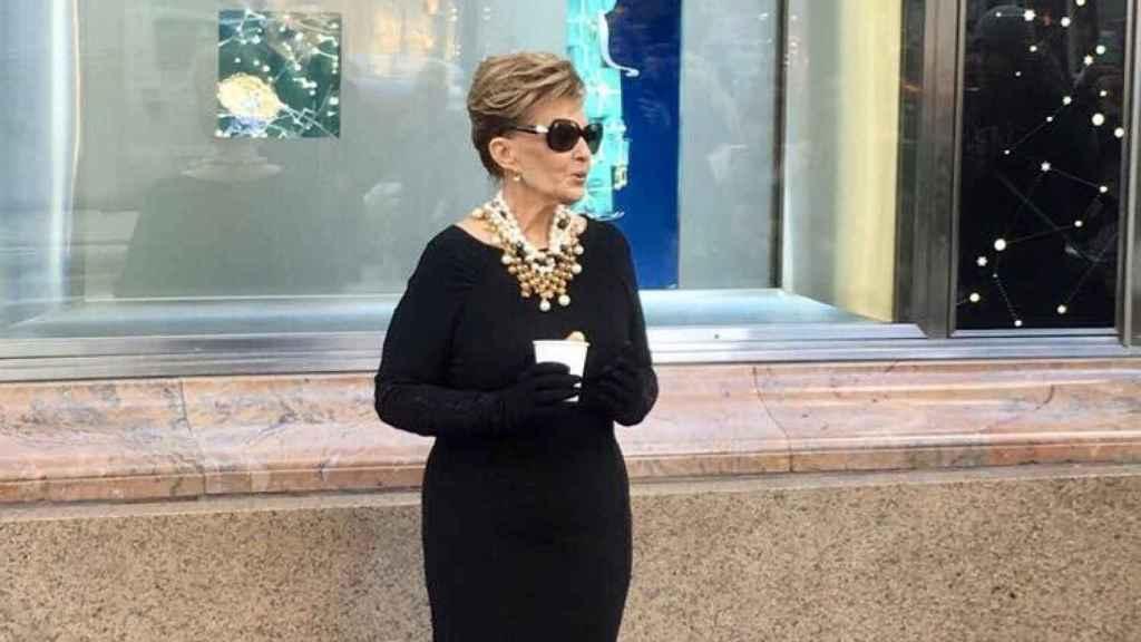 María Teresa Campos en Nueva York.