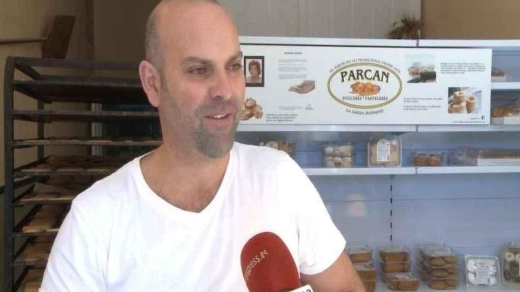 Juan Jesús Paredes Cano, uno de los dueños de la pastelería Parcan. Foto: Europa Press