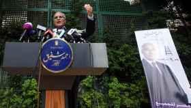 El exprimer ministro egipcio Ahmed Shafiq