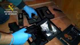 Imagen de las armas transformadas que han sido incautadas.