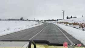 carretera nieve cadenas invierno frio 1