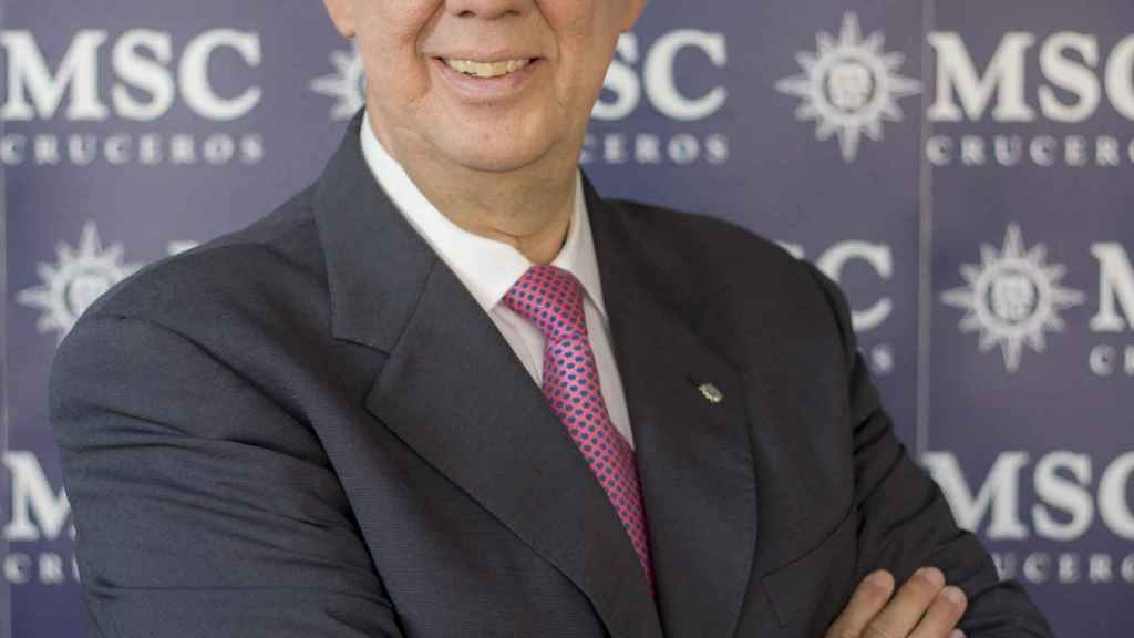 Emiliano González, presidente de MSC Cruceros España.