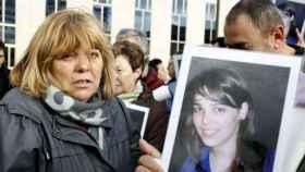 Asun Casasola, la madre de la joven Nagore Laffage asesinada en Sanfermines, durante el juicio celebrado en Pamplona.
