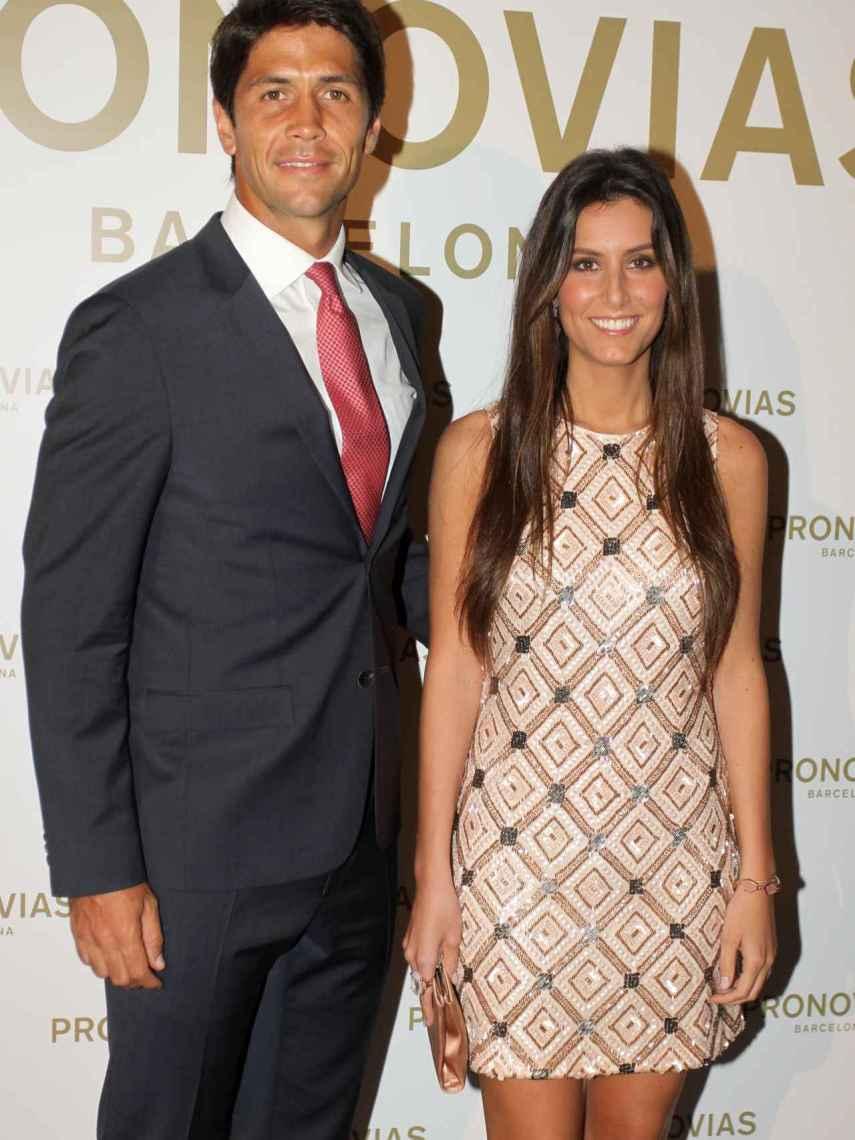 Fernando Verdasco y Ana Boyer, elegantes y felices.