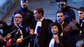 Los abogados de Puigdemont en Bélgica, Paul Bekaert y Christophe Marchand