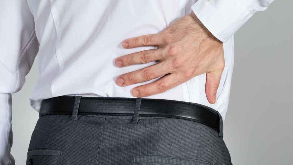 El dolor de espalda es una de las patologías más habituales.
