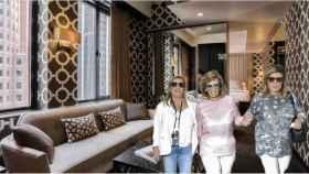 El hotel del que han disfrutado María Teresa y sus hijas.