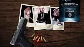 La amenaza contra el imán difundida en la revista oficial de Daesh.