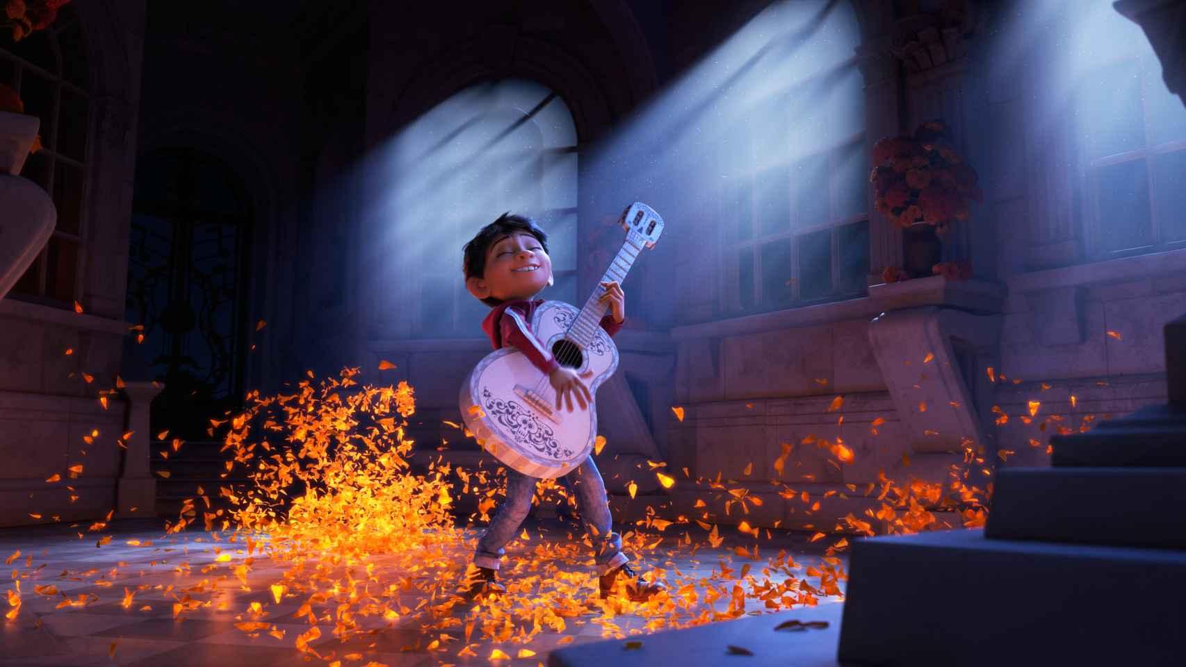 Coco, de Pixar, una fábula sin empresas tecnológicas...