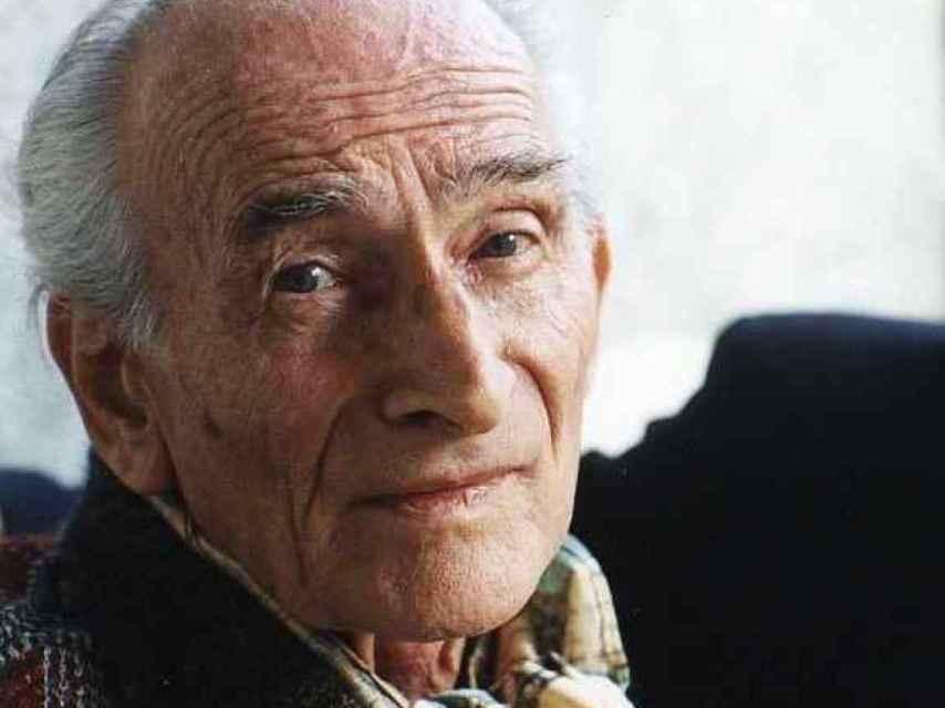 Balthus, en una fotografía de Damian Pattigrew, en 1996, cinco años antes de la muerte del pintor.