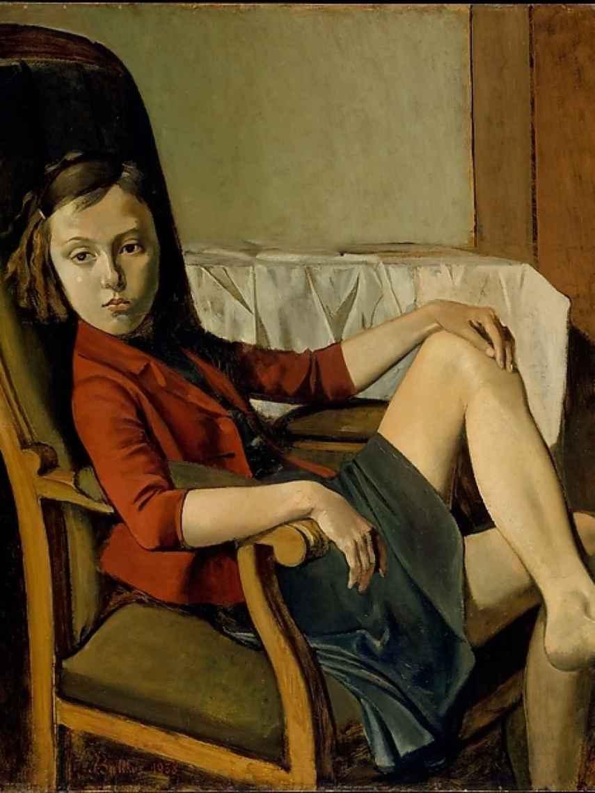 Thérèse retratada en 1938.