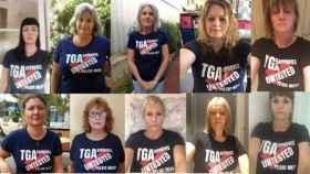 Las víctimas australianas de los implantes de malla vaginal.