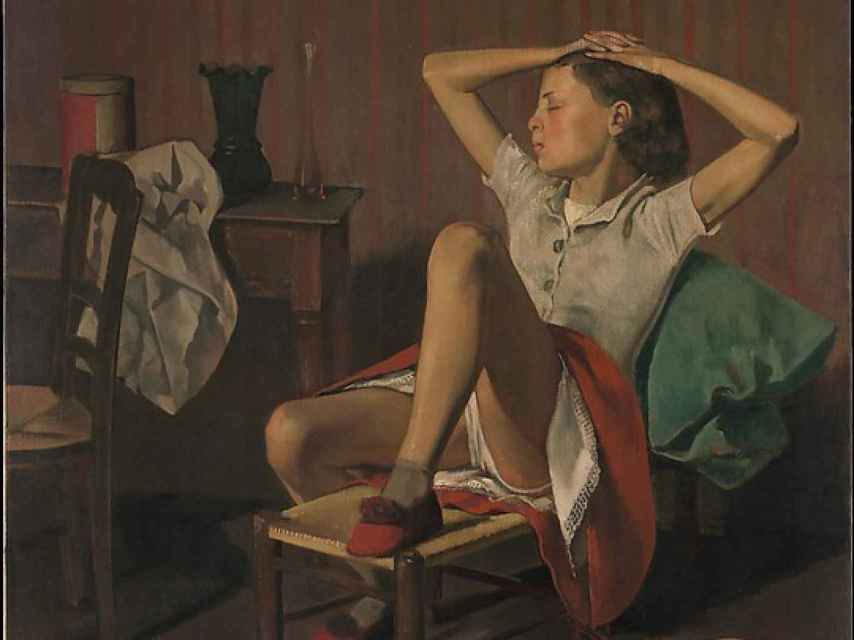 Thérèse Dreaming, la obra del MET que molesta a algunos visitantes.
