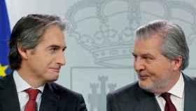 El ministro de Fomento y el ministro de Educación, Cultura y Deporte.