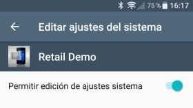 Cómo desactivar el Retail Mode o Modo Tienda de los Sony Xperia