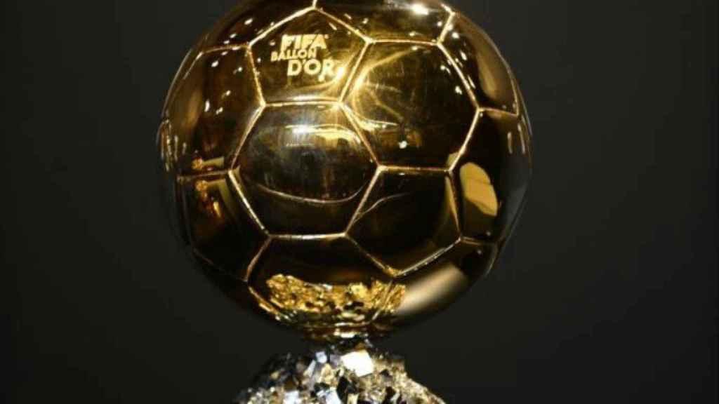 Balón de Oro. Foto francefootball.fr