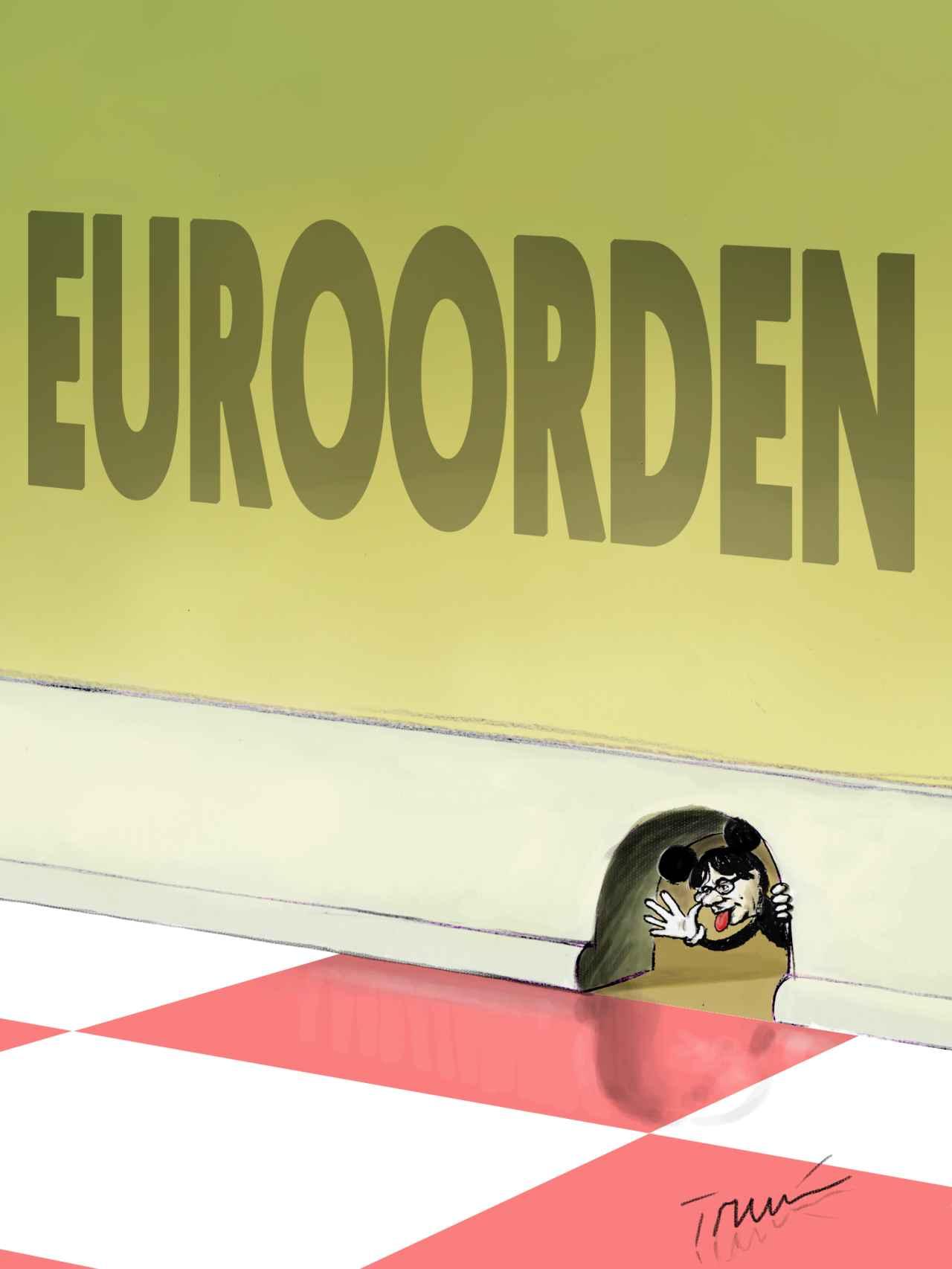 Los agujeros de la euroorden