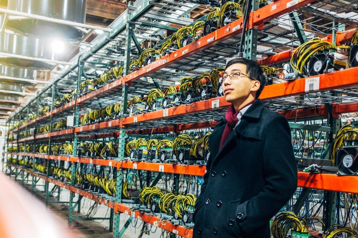 granja mineria bitcoin