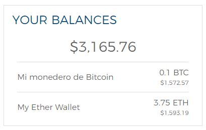 monedero bitcoin ethereum