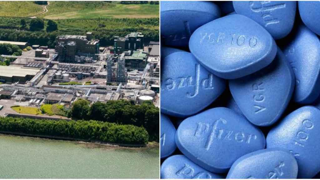 Pfizer fabrica viagra en la localidad irlandesa de Ringaskiddy.