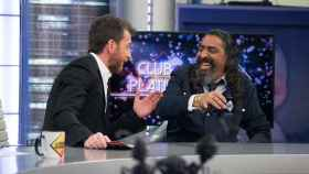Diego el Cigala junto a Pablo Motos.