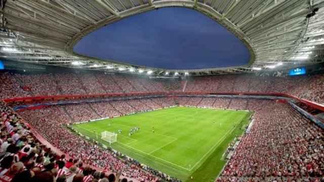 San Mamés, el único estadio español que albergará la Eurocopa 2020.