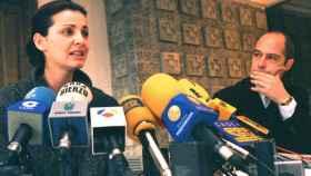 Nevenca Fernández, el día que anunció su denuncia por acoso sexual.