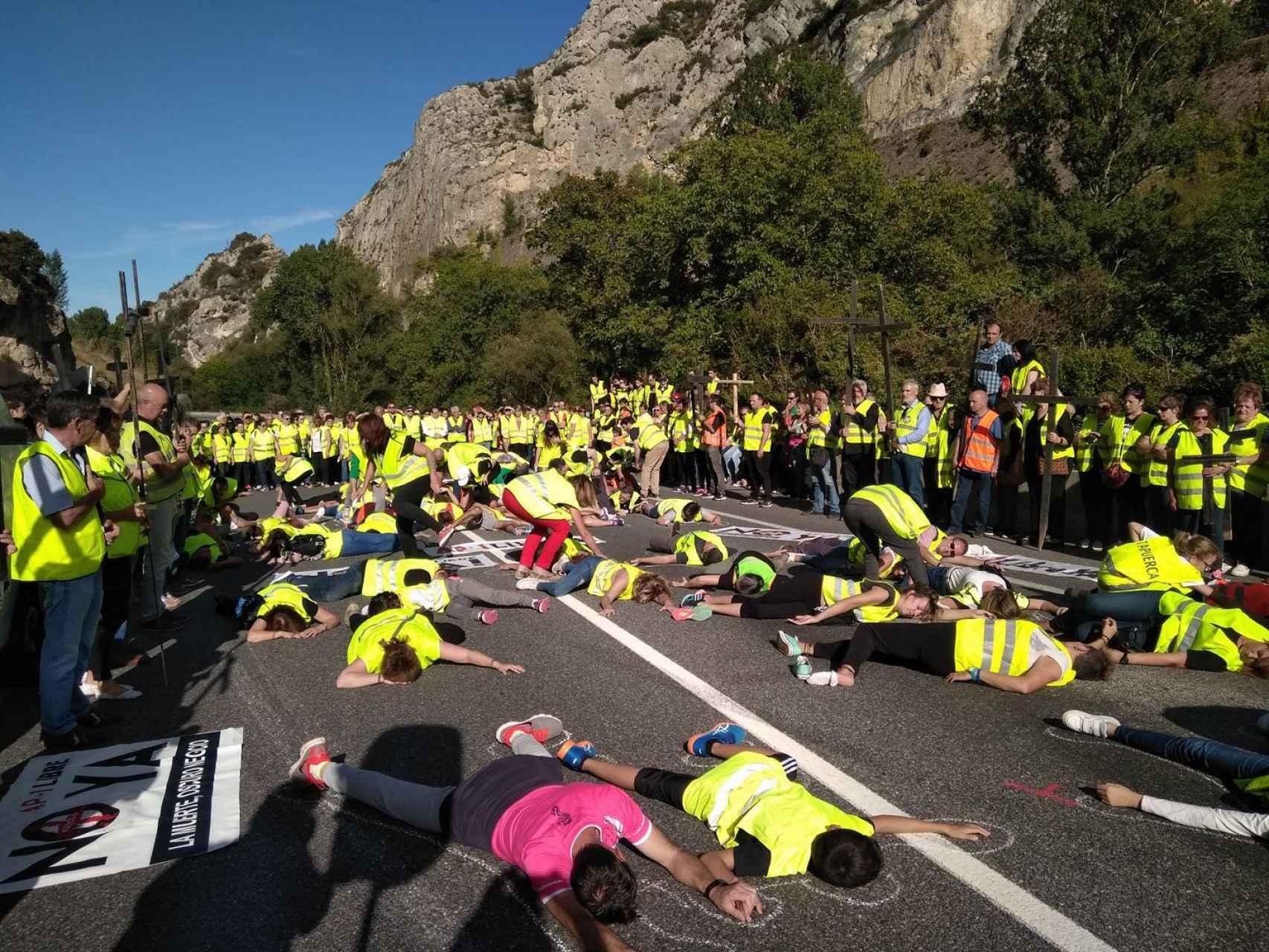 Fresno de Rodilla, golpeado por la 'carretera de la muerte'