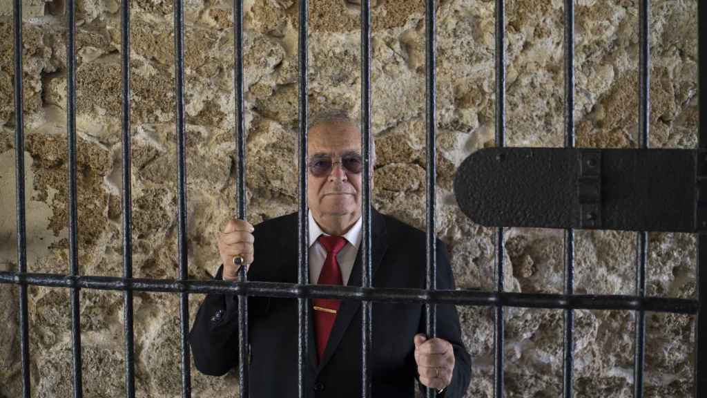 Fernando Marín, 75 años, barcelonés nacido en Burgos, reclutado para la quita de 1964 y responsable del cuidado del grupo en el penal militar de Cádiz.