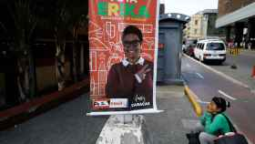 Cartel de la candidata a la alcaldía de Libertador, distrito de Caracas