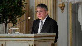 Kazuo Ishiguro, en su discurso de aceptación del Nobel.