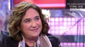 Ada Colau durante la entrevista.
