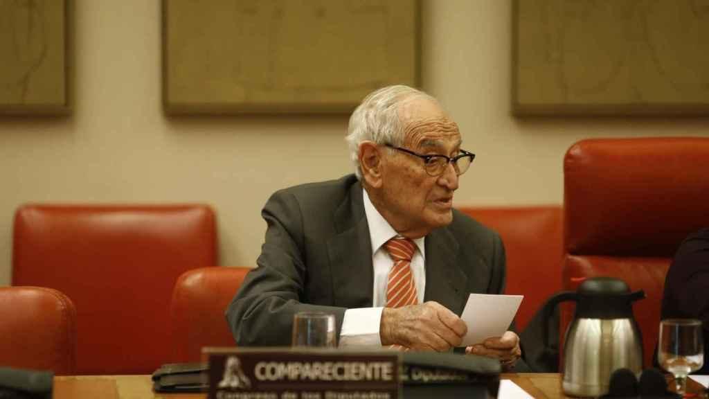 Aristóbulo de Juan, ex director general del Banco de España.